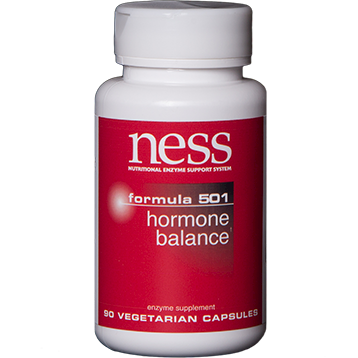 Ness Enzymes Hormone Balance 501 90 caps FOR41