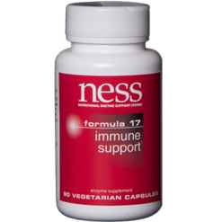 Ness Enzymes Immune Support 17 90 vegcaps FOR10