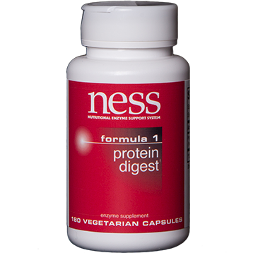 Ness Enzymes Protein Digest Formula 1 180 capsules FOR22