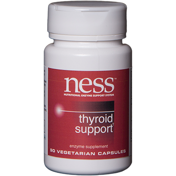 Ness Enzymes Thyroid Support 90 vegcaps N34910