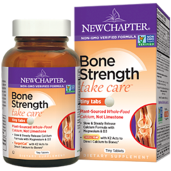 New Chapter Bone Strength Take Care 240 tiny tabs N04130