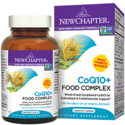 New Chapter CoQ10 Food Complex 60 vegetarian capsules CQFC6
