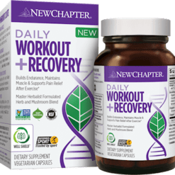 New Chapter Daily WorkoutRecovery 60 vegcaps NC1750