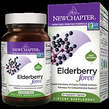 New Chapter Elderberry Force 30 vegcaps N01156