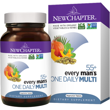 New Chapter Every Man039s One Daily 55 48 veg tabs NC1279