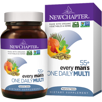 New Chapter Every Man039s One Daily 55 72 veg tabs NC1286