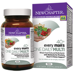 New Chapter Every Mans One Daily 40 48 tablets N0370
