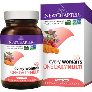 New Chapter Every Womans One Daily 55 48 veg tabs NC1248