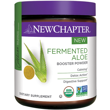 New Chapter Fermented Aloe Booster Powder 54 gm NC1354