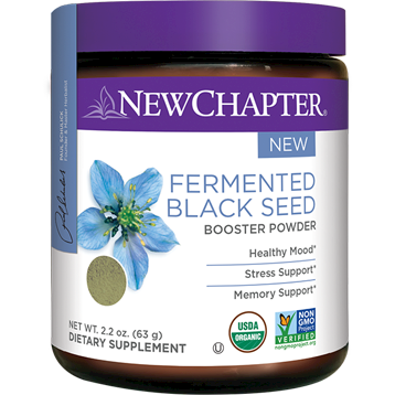 New Chapter Fermented Black Seed Booster 40 srvng NC1491