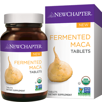 New Chapter Fermented Maca 96 tablets NC1477