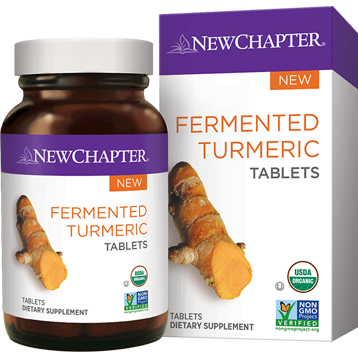 New Chapter Fermented Turmeric 48 tablets NC1446