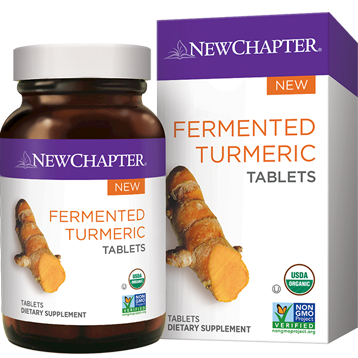 New Chapter Fermented Turmeric 96 tablets NC1453