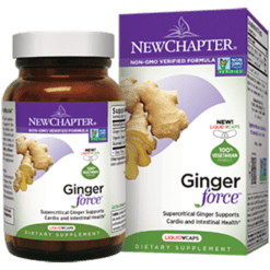 New Chapter Ginger Force 30 liquid vegcaps N40404
