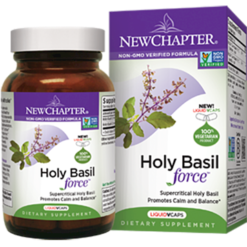 New Chapter Holy Basil Force 60 liquid vegcaps SHB6