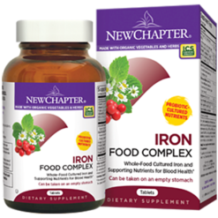New Chapter Iron Food Complex 60 tabs EWS60