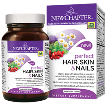 New Chapter Perfect Hair Skin amp Nails 30 vegcaps N01163
