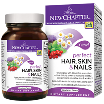 New Chapter Perfect Hair Skin amp Nails 60 vegcaps N01170
