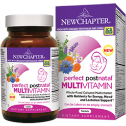 New Chapter Perfect Postnatal 192 tablets NC0586