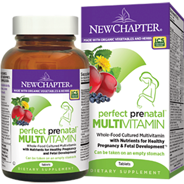 New Chapter Perfect Prenatal Multi Vitamin 96 tablets PP96