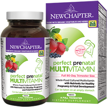 New Chapter Perfect Prenatal Trimester 270 tablets PP270