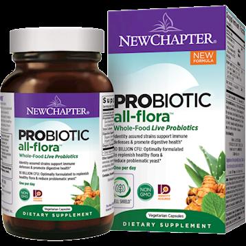 New Chapter Probiotic All Flora 30 vegcaps N01828