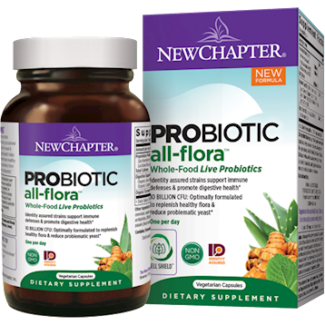 New Chapter Probiotic All Flora 60 vegcaps N01835