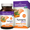 New Chapter Turmeric Force Detox Action 60 vegcaps NC1217