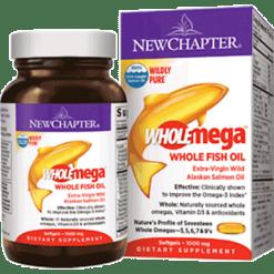 New Chapter Wholemega 1000 mg 120 softgels W1020