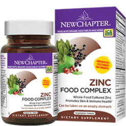 New Chapter Zinc Food Complex 60 tabs NC0645