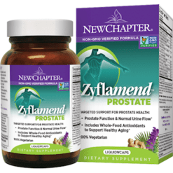 New Chapter Zyflamend Prostate 60 liquid vegcaps N4110