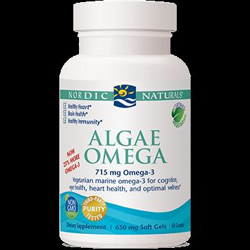Nordic Naturals Algae Omega 60 gels W01605