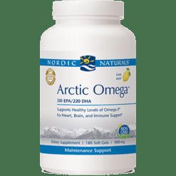 Nordic Naturals Arctic Omega Lemon 1000 mg 180 gels AOMEL