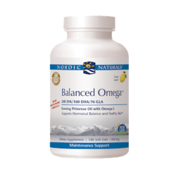 Nordic Naturals Balanced Omega Combination 180 gels BALA5
