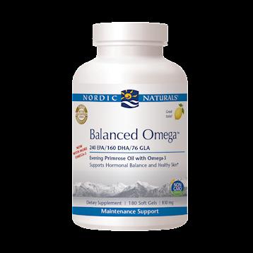 Nordic Naturals Balanced Omega Combination 180 gels BALA5