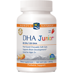 Nordic Naturals DHA Junior Strawberry 180 gel caps DHAJU