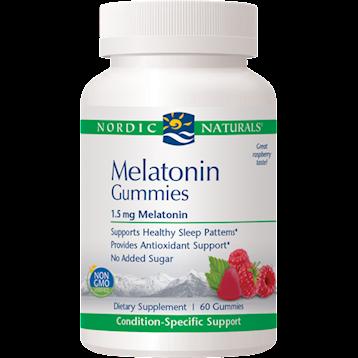 Nordic Naturals Melatonin 1.5 mg 60 gummies N01933
