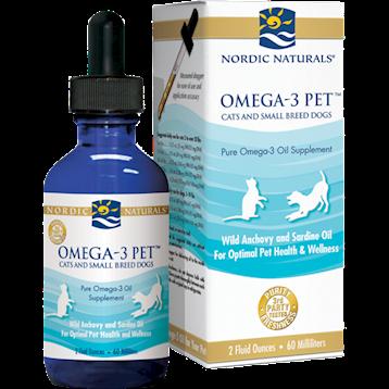 Nordic Naturals Omega 3 Pet 2 fl oz Sm. Cats amp Dogs N50505