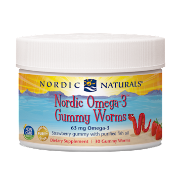 Nordic Naturals Omega 3 Worms 30 worms OMWRM