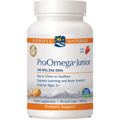 Nordic Naturals ProOmega® Junior Strawberry 500mg 90 gel PROO6