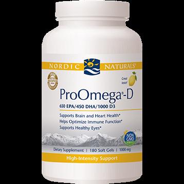 Nordic Naturals ProOmega D 1000 mg 180 gels PRO180