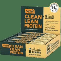 NuZest Clean Lean Protein 12 Bars Vanilla Alm N06472