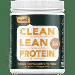 NuZest Clean Lean Protein Coffee 20 servings N06038