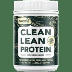 NuZest Clean Lean Protein Coffee MCTs 9 serv N06267