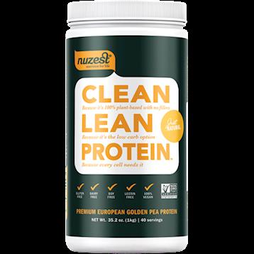 NuZest Clean Lean Protein Natural 40 srvings N06205