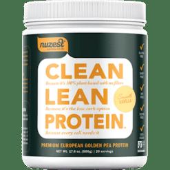 NuZest Clean Lean Protein Smooth Van 20 srving N06014