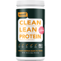 NuZest Clean Lean Protein Strawberry 40 srvings N06243
