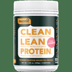 NuZest Clean Lean Protein Strawberry 9 servings N06526
