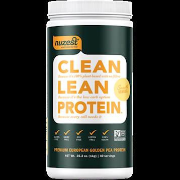 NuZest Clean Lean Protein Vanilla 40 servings N06212