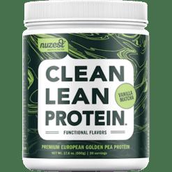 NuZest Clean Lean Protein Vanilla Matcha N06397